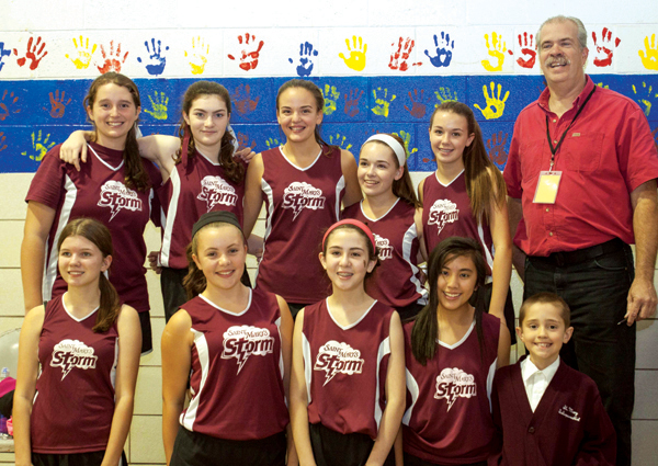St. Mary 2015 Volleyball Championship team